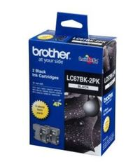 Brother Ink Cartridges LC67BK2PK - 2 Pack (Black)