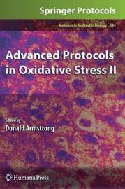 Advanced Protocols in Oxidative Stress II image