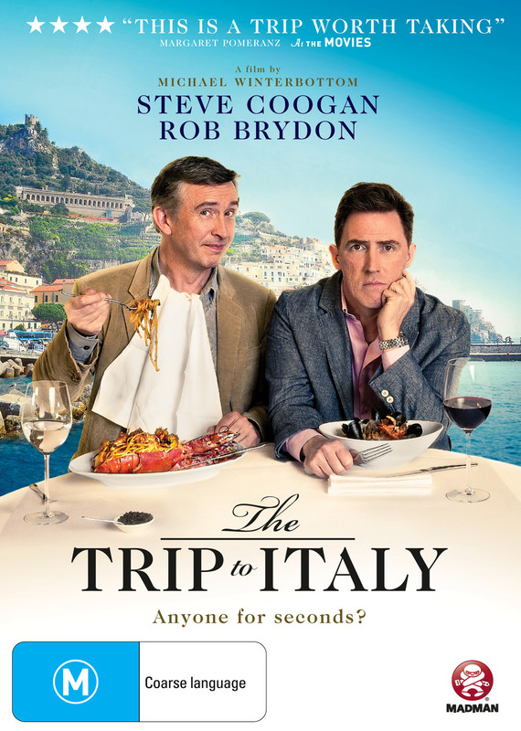 The Trip to Italy on DVD