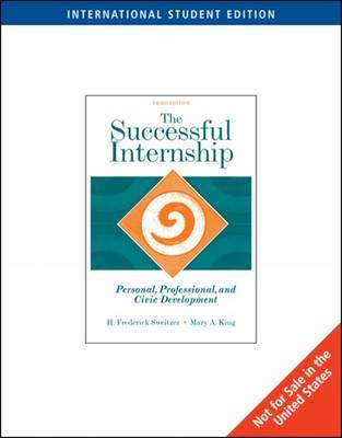 The Successful Internship by H. Sweitzer