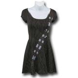 Star Wars Chewbacca Slim Skater Dress (Large)