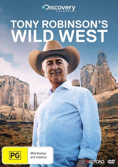Tony Robinson's Wild West on DVD image