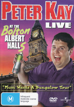 Peter Kay - Live At The Bolton Albert Halls: Mum Wants A Bungalow Tour on DVD
