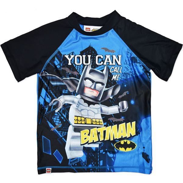 LEGO DC Comics Batman Rash Top (Size 7)
