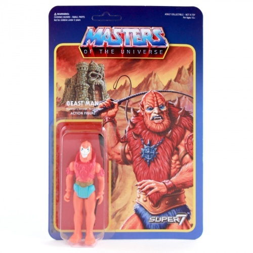 Masters of the Universe - Beast Man Retro Action Figure image