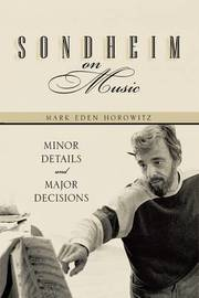 Sondheim on Music by Mark Eden Horowitz image