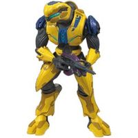 Halo Series 7 Action Figure - Elite Flight (Yellow) image