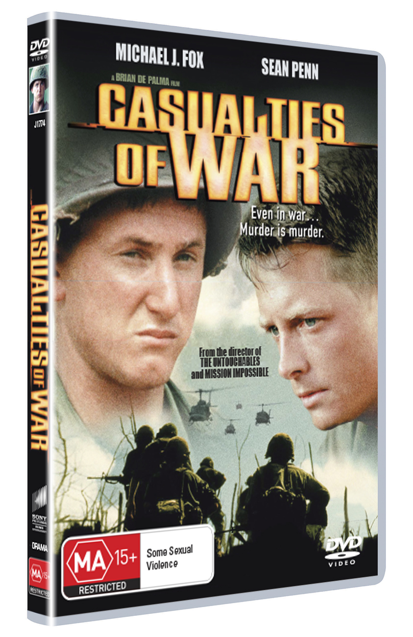 Casualties of War on DVD image
