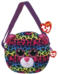 Ty Gear: Dotty Leopard - Plush Purse