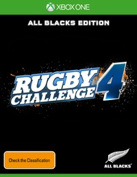 All Blacks Rugby Challenge 4 for Xbox One