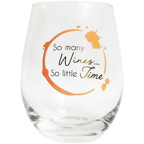 So Many Wines Wine Glass Peach