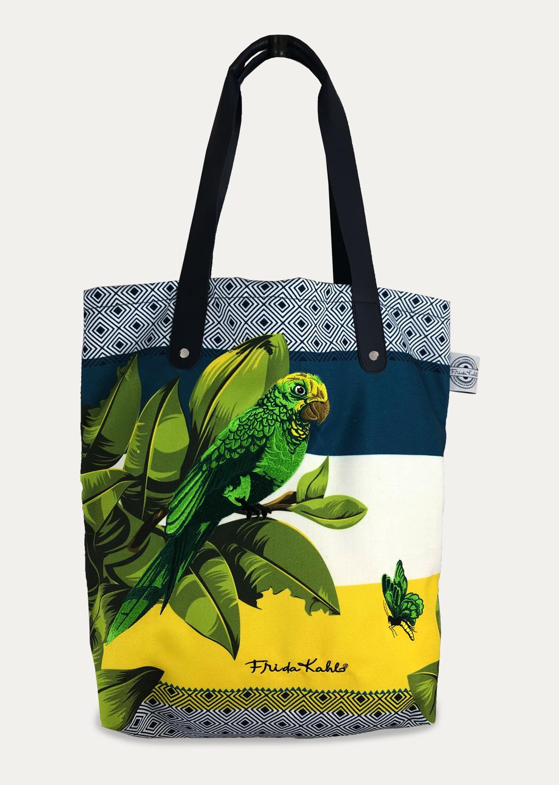 Frida Kahlo - Bonito Tote Bag with Pom Poms image