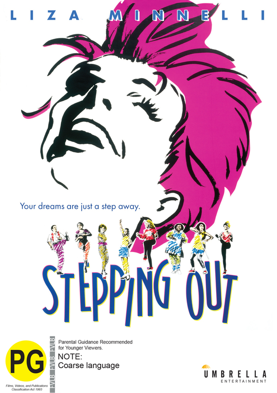 Stepping Out on DVD