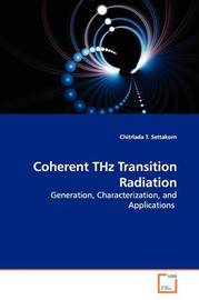 Coherent Thz Transition Radiation by Chitrlada T. Settakorn image