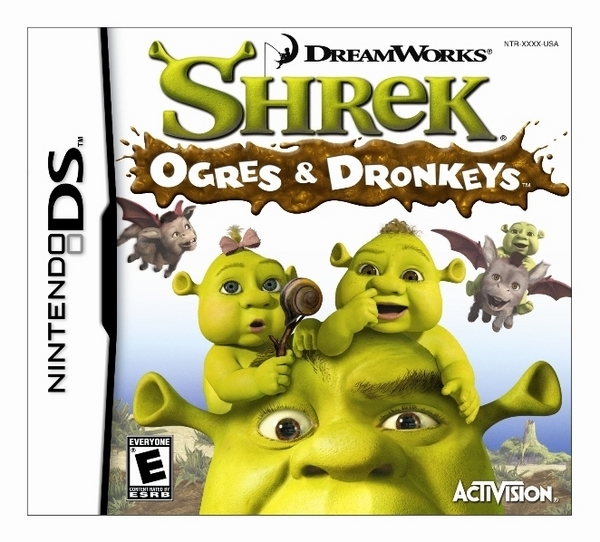 Shrek: Ogres and Dronkeys for Nintendo DS