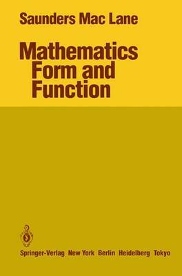 Mathematics Form and Function by Saunders MacLane