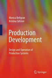 Production Development by Monica Bellgran