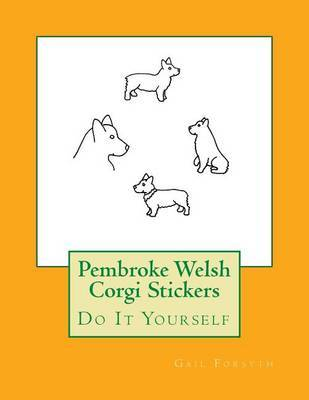 Pembroke Welsh Corgi Stickers by Gail Forsyth image