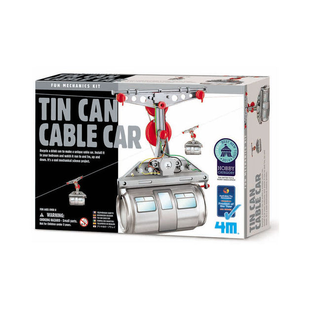 4M: Tin Can Cable Car