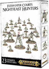 Warhammer Age of Sigmar: Flesh-Eater Courts Nightfeast Hunters