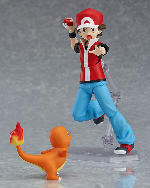 Figma Pokemon: Trainer Red - Action Figure image