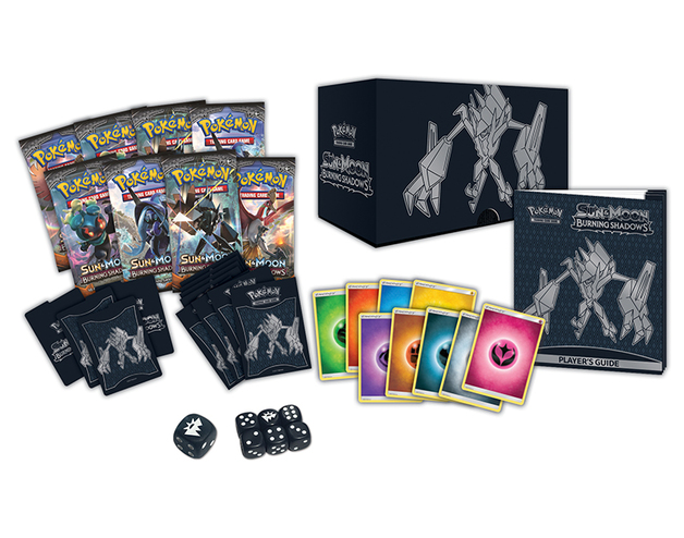 Pokemon TCG Burning Shadows Elite Trainer Box