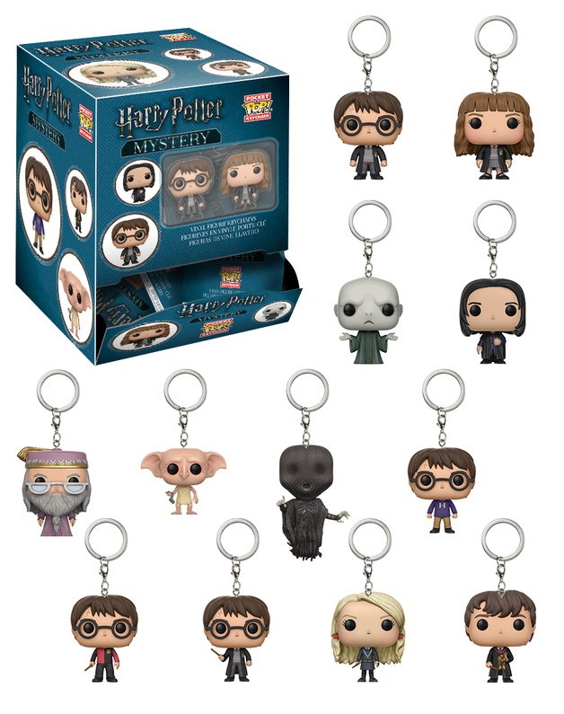 Harry Potter: Pocket Pop! - Mystery Keychain (Blind Bag)