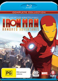 Iron Man Armored Adventures Collection (2 Disc Box Set) on Blu-ray