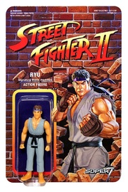 "Street Fighter II: Ryu - 3.75"" CE Retro Action Figure"