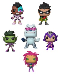 Teen Titans Go: Night Begins - Pop! Vinyl Bundle