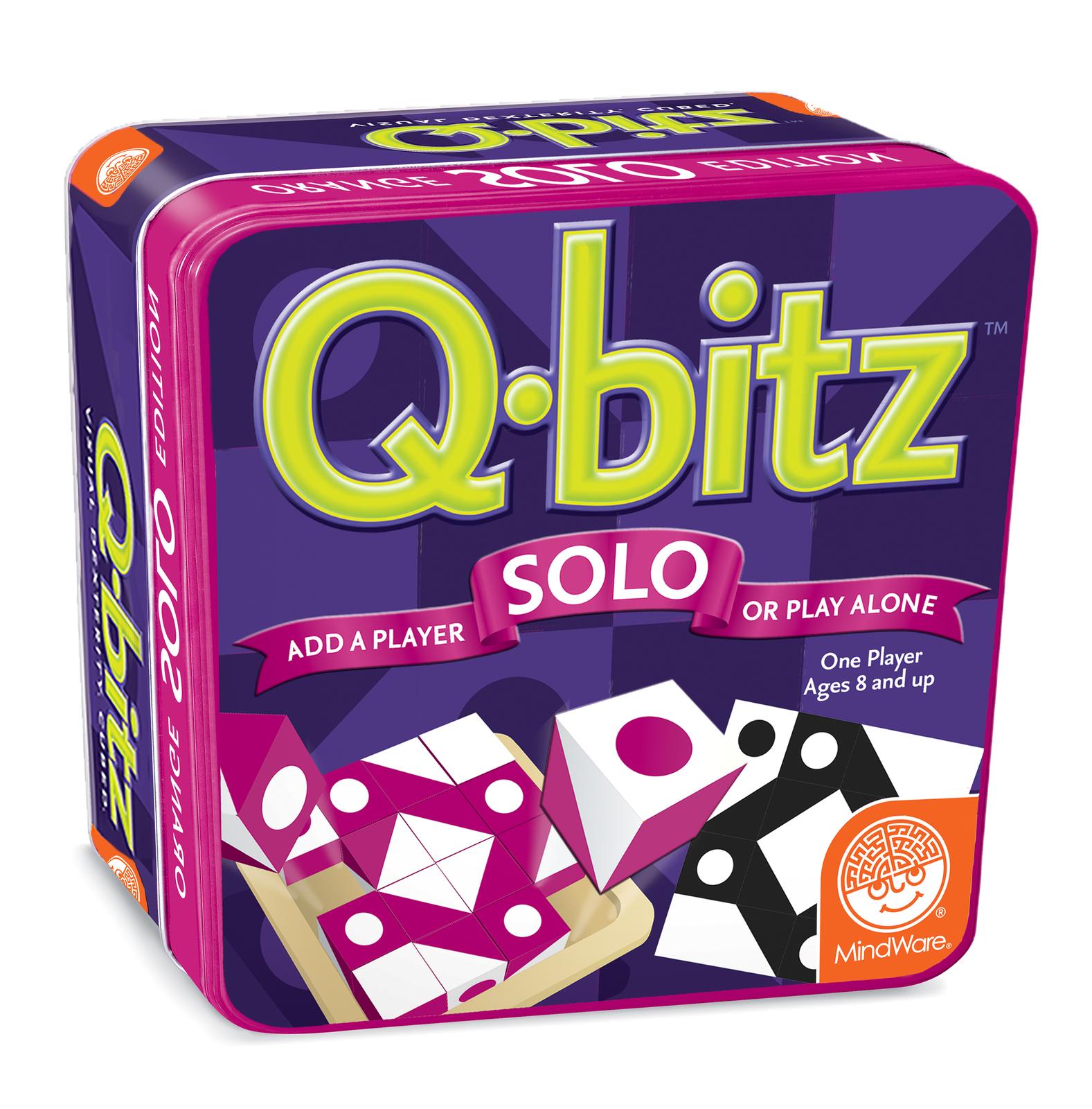 Mindware Games: Q-bitz Solo - Magenta Edition image
