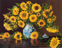 Diamond Dotz: Facet Art Kit - Sunflowers In A China Vase