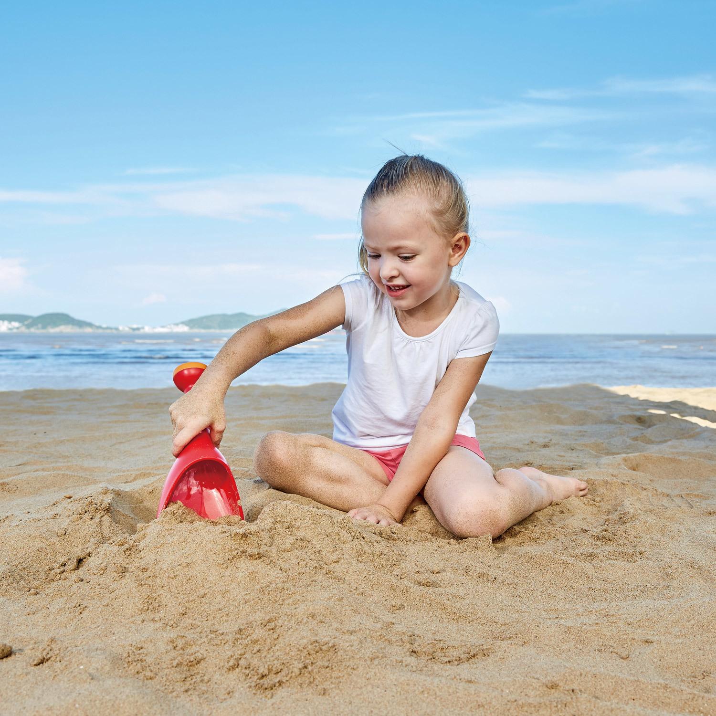 Hape: Rain Shovel Sand Toy - Blue image