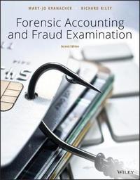 Forensic Accounting and Fraud Examination by Mary Jo Kranacher