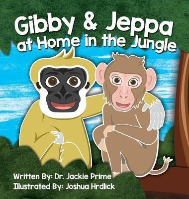 Gibby and Jeppa at Home in the Jungle by Jackie Prime