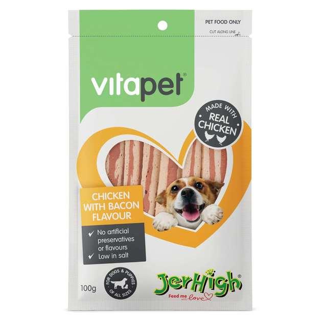 Vitapet: Jerhigh Chicken & Bacon (100g)