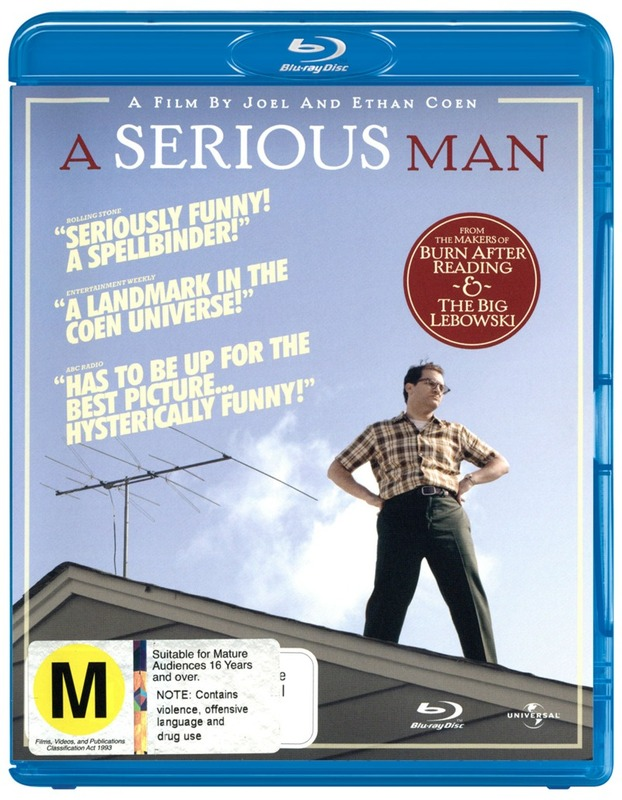 A Serious Man on Blu-ray