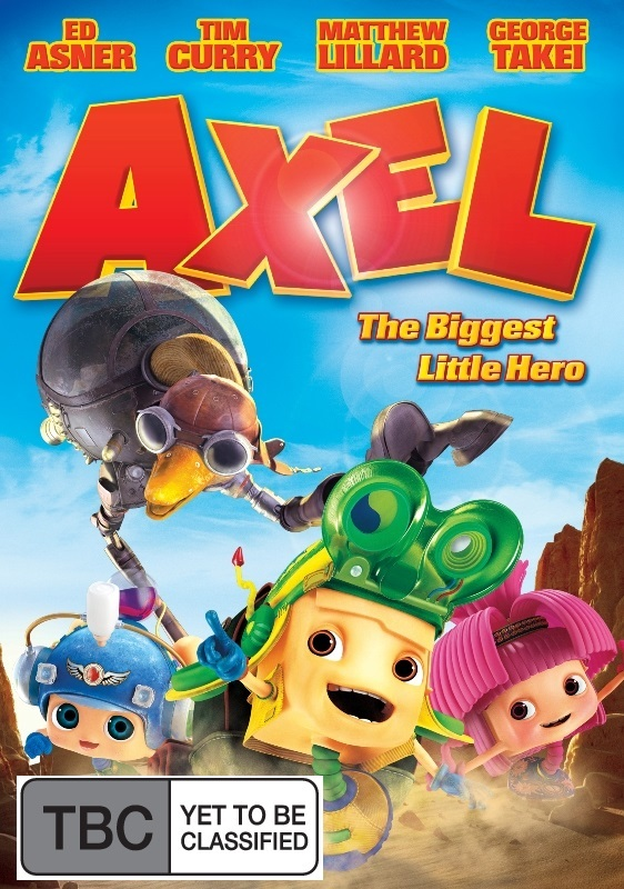 Axel - The Biggest Little Hero on DVD