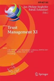 Trust Management XI