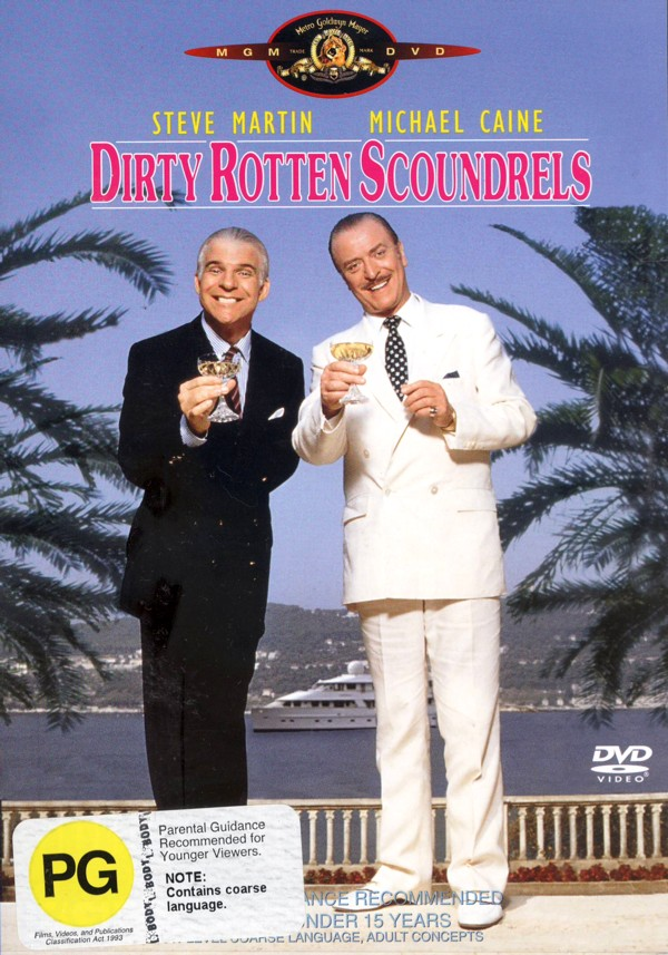 Dirty Rotten Scoundrels on DVD image