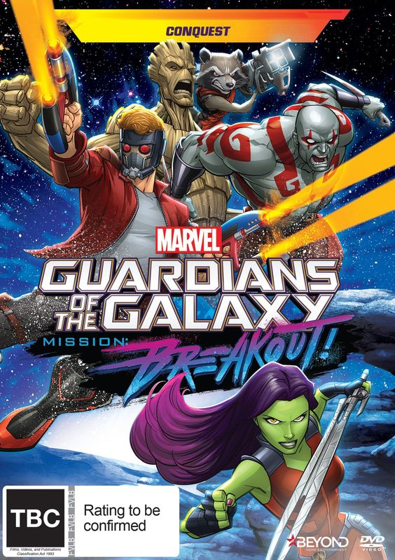 Guardians Of The Galaxy: Conquest on DVD