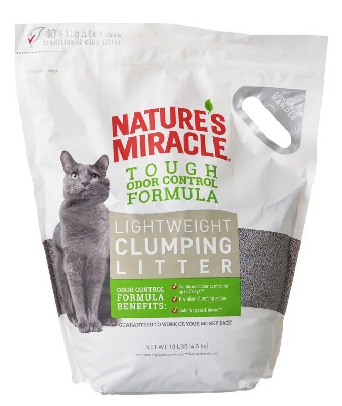 Natures Miracle Lightweight Clumping Clay Litter (4.5kg) image