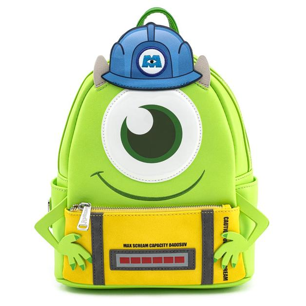 Loungefly: Pixar Monsters Inc Mike with Scare Can Mini Backpack