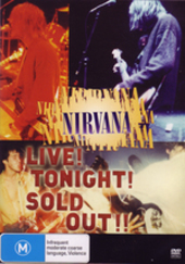 Nirvana - Live! Tonight! Sold Out!! on