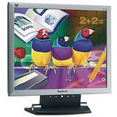 "Viewsonic Monitor LCD 17"" 1280X1024 Slim Bezel Silver VE710S"