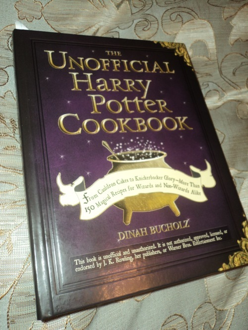 The Unofficial Harry Potter Cookbook: From Cauldron Cakes to Knickerbocker Glory by Dinah Bucholz image