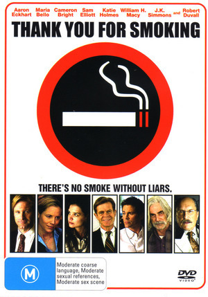 Thank You For Smoking on DVD image