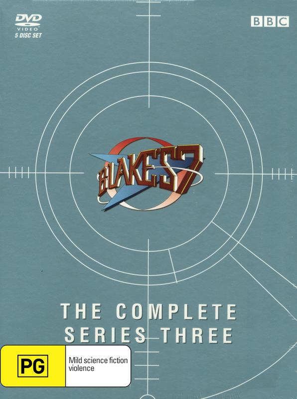 Blake's 7 - Complete Series 3 on DVD
