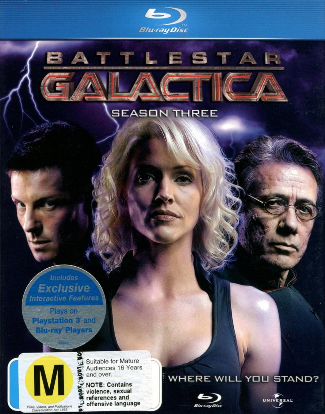 Battlestar Galactica - The Complete Third Season on Blu-ray image