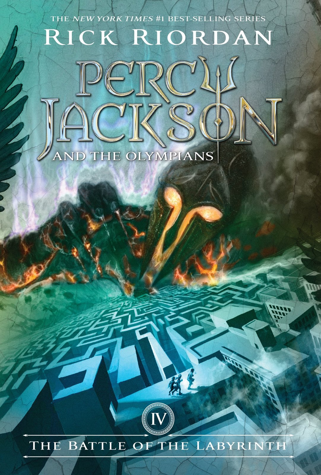 Percy Jackson and the Olympians Boxed Set (All 5 Books + Poster) by Rick Riordan image
